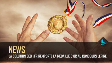 Photo of La solution SEO 1.fr remporte la médaille d'or au concours Lépine