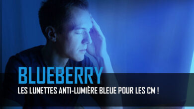 Lunettes Blueberry