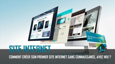 Creer site internet Wix