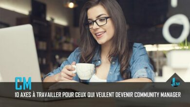 Photo de 10 axes à travailler pour devenir community manager