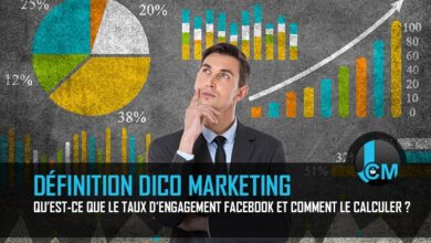 Dictionnaire Marketing Calcul et Taux Engagement Facebook Journal du Community Manager