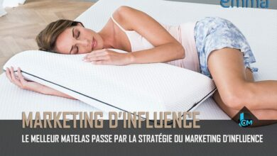 Matelas Emma Marketing d'influence - Journal du Community Manager - journalducm.com