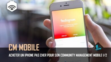 Photo of Acheter un iPhone pas cher pour son community management mobile 1/2