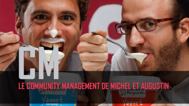 Photo of Le community management de Michel et Augustin