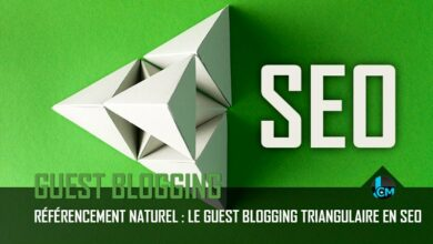 Photo de Référencement naturel : Le guest blogging triangulaire en SEO