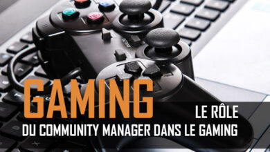 Photo de Le community manager dans le gaming