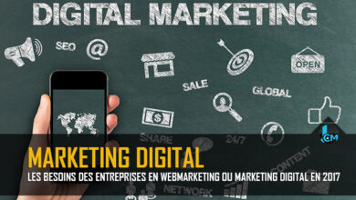 Photo de Les besoins des entreprises en webmarketing ou marketing digital en 2017