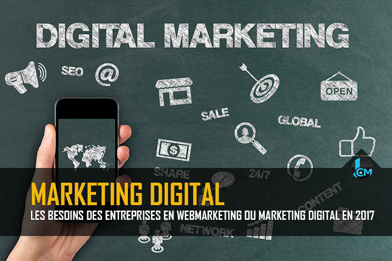 Webmarketing ou marketing digital - Etude 2017