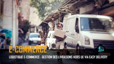 Logistique E-commerce Easy Delivery