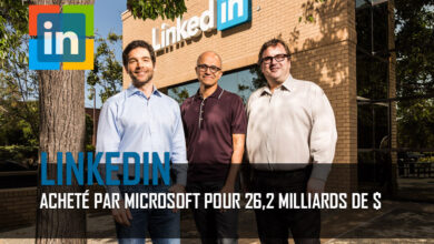 Photo of Microsoft rachète Linkedin pour 26,2 milliards de dollars
