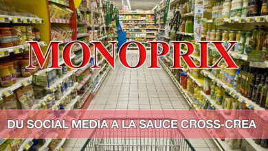 Photo of Monoprix, un social media créatif à dimension cross-canal