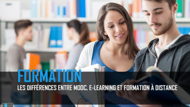 Photo of Les différences entre Mooc, e-learning et formation à distance