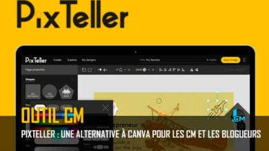 Pixteller alternative à Canva