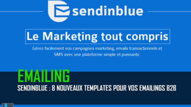 Photo of SendinBlue propose 8 nouveaux templates pour vos eMailings B2B