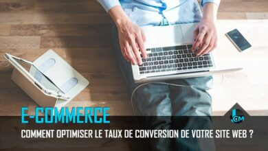 Taux de conversion site web