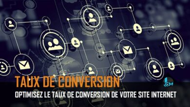 Taux de conversion site internet